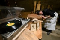 Swiss cheesemaker Beat Wampfler lets the music play in his experiment for a tastier Emmental, one of the most famous cheeses in Switzerland
