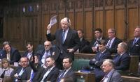 UK's Boris Johnson reprimanded for failing to report income