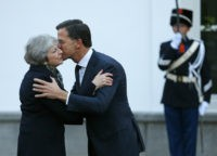UK's May lobbies EU leaders in fight to save Brexit deal