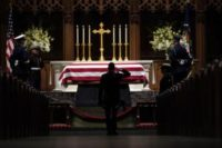 George H.W. Bush to be laid to rest at presidential library in Houston