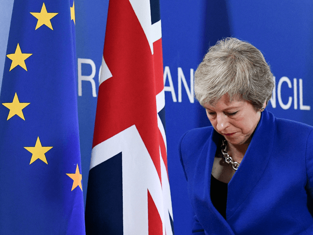 THERESA MAY PHILIPPE LOPEZ/AFP/Getty Images