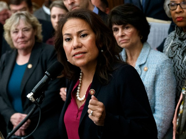 , Dem Rep. Escobar: GOP Members 'Fueling Hate Against Migrants' with Border Visit, 'Finally Have' Admin. 'Willing to Look at' Border in Biden, Nzuchi Times Breitbart
