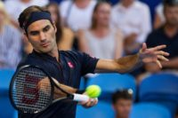 Roger Federer -- who beat German challenger Alexander Zverev in Peth -- said he was just one of 10 favourites going into the Australian Open later this month