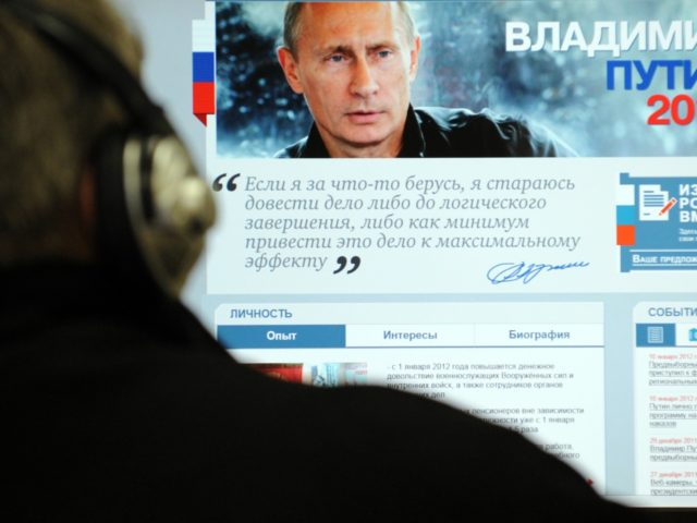 putin terminates internet and begins intranet