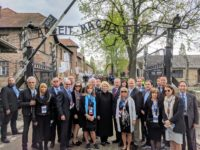 U.S. Delegation at Auschwitz for Holocaust Memorial