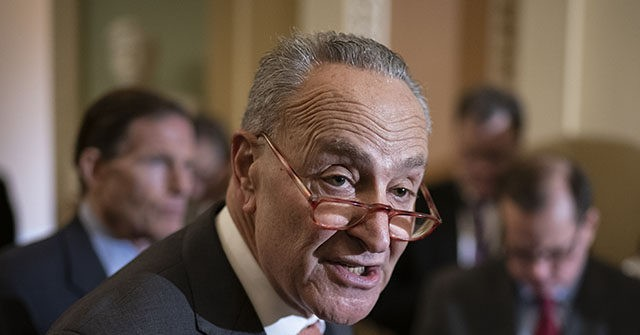 Chuck Schumer Argues Spending Trillions Will 'Ease Inflation Pressures'