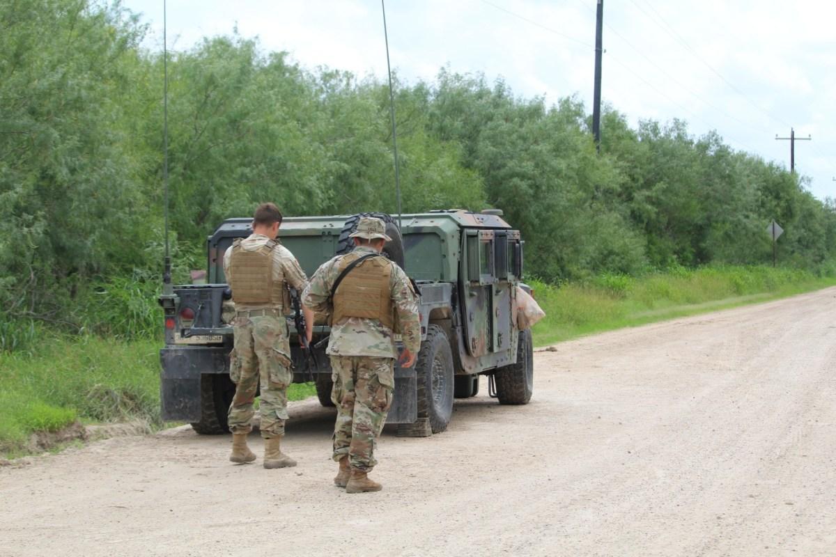, Army National Guardsmen Spend Memorial Day on U.S.-Mexico Border, Nzuchi Times Breitbart