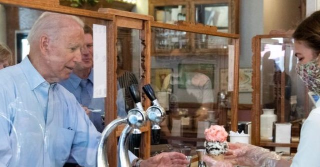 , 'It's Been a Rocky Road' — Joe Biden Stops for Two Scoops of Ice Cream, Nzuchi Times Breitbart