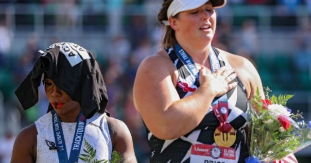 , Colin Kaepernick Camp Applauds Gwen Berry After Anthem, Flag Snub, Nzuchi Times Breitbart