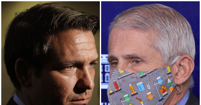 , EXCLUSIVE — Ron DeSantis: Fauci's Purported Role with Gain of Function Research 'Absolutely Needs to Be Fully Investigated', Nzuchi Times Breitbart