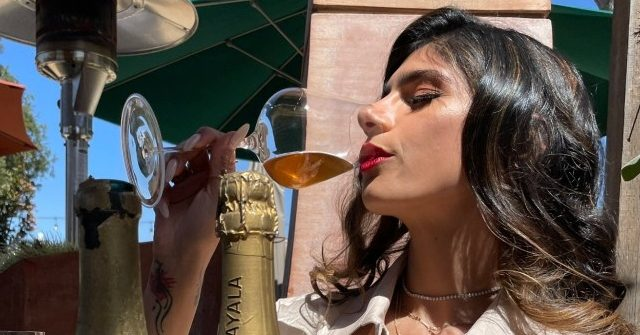 , Ex-Porn Star Mia Khalifa Drinks Nazi-era Wine to Mock Israel as 'Apartheid' State, Nzuchi Times Breitbart