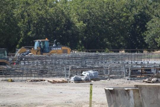 Construction crews gather materials to build Texas-funded border wall. (Photo: Randy Clark/Breitbart Texas)