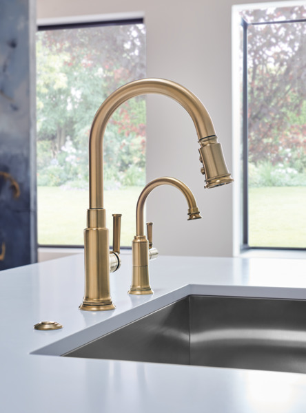 rook pull down faucet