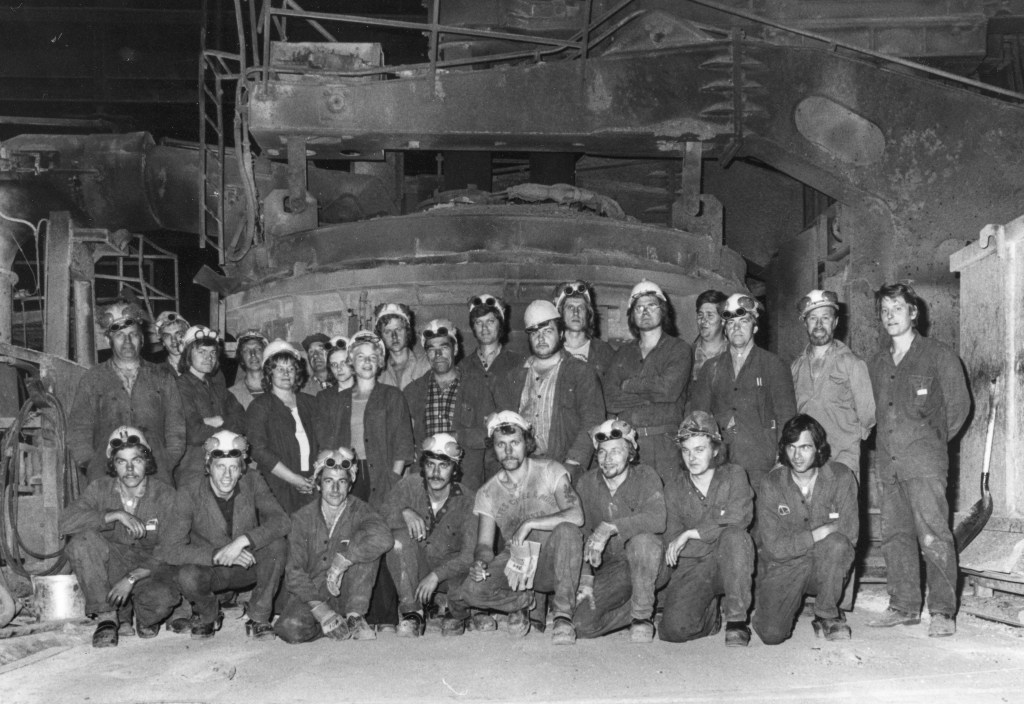 Gruppbild Stv 2, foto T.Brinksäter ca 1973