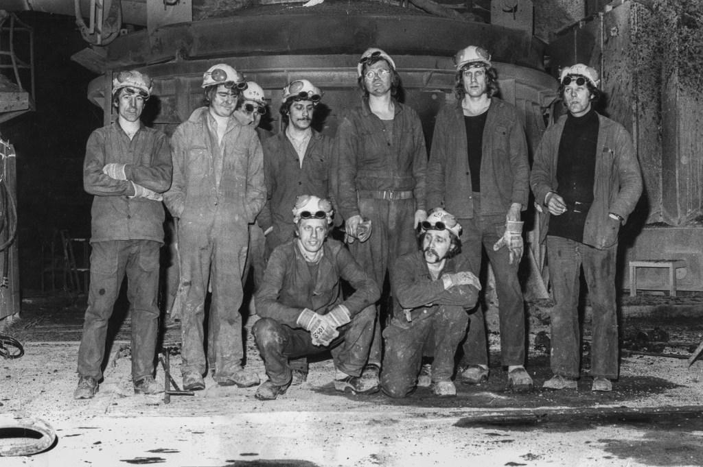 Gruppbild fr Stv 2, foto Tommy Brinksäter ca 1973