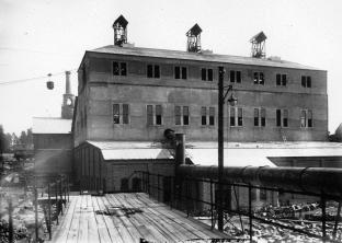 Hyttan från väster.1919