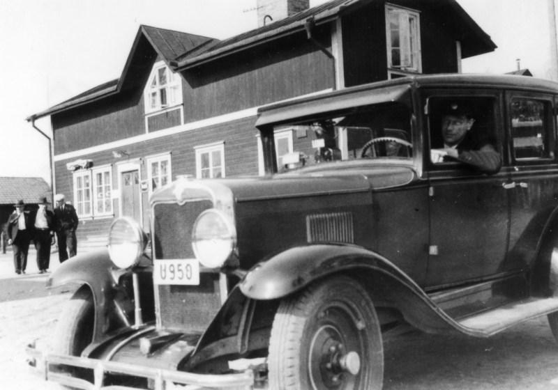 Norgrens taxi vid Mojsen