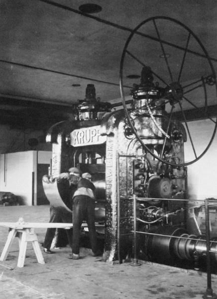 Första kallvalsverket startat 1931
