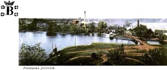 Forsbacka Jernverk 1907