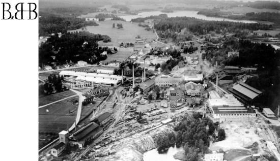 Långshyttan på 1940-talet