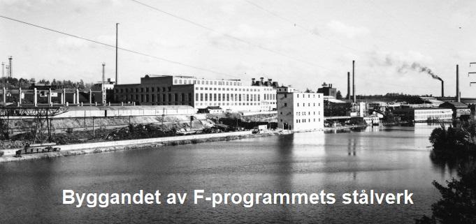 STÅLVERK BYGGS I FAGERSTA PÅ 1940-TALET
