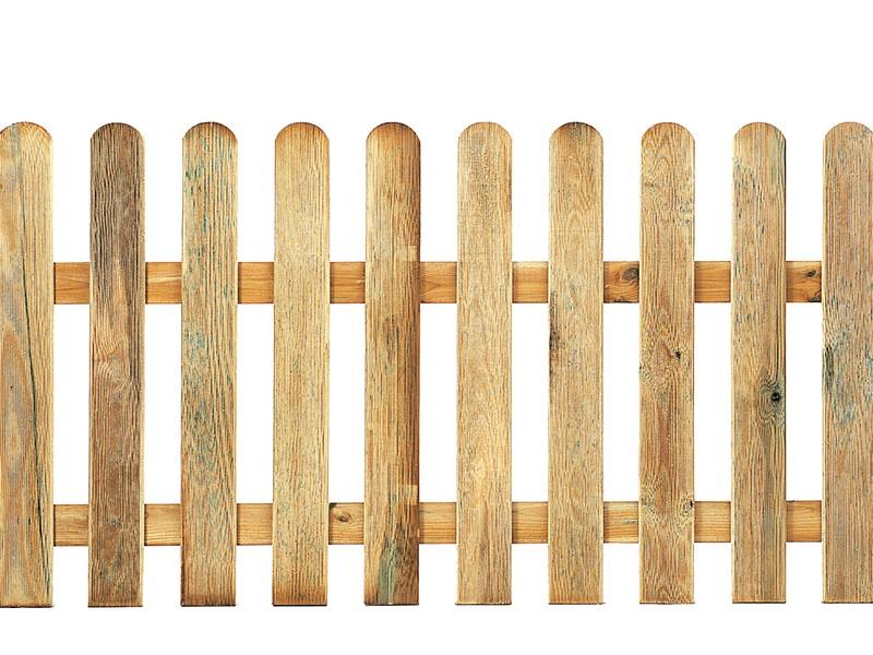 cloture classique en bois catral hauteur 1 m differentes hauteurs