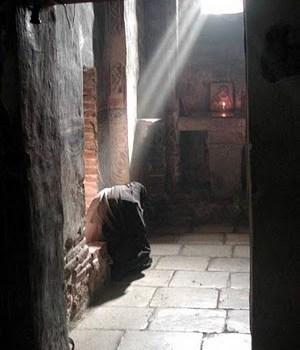 молитва монаха