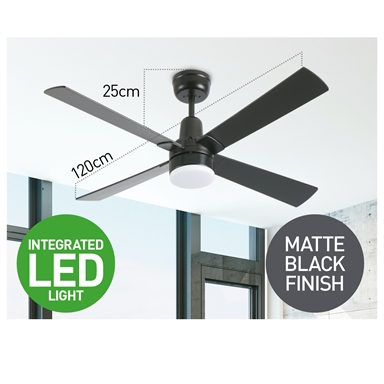 Arlec Ceiling Fan With Light And Remote Arlec 130cm Denver Abs 3 Blade Ceiling Fan With Silver Finish Blades Theitmart With Remote Controls And Silent Operation The Best Fans Will