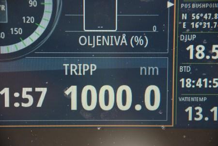 1000 seglade distans