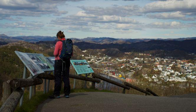 Utsikt mot Telemark