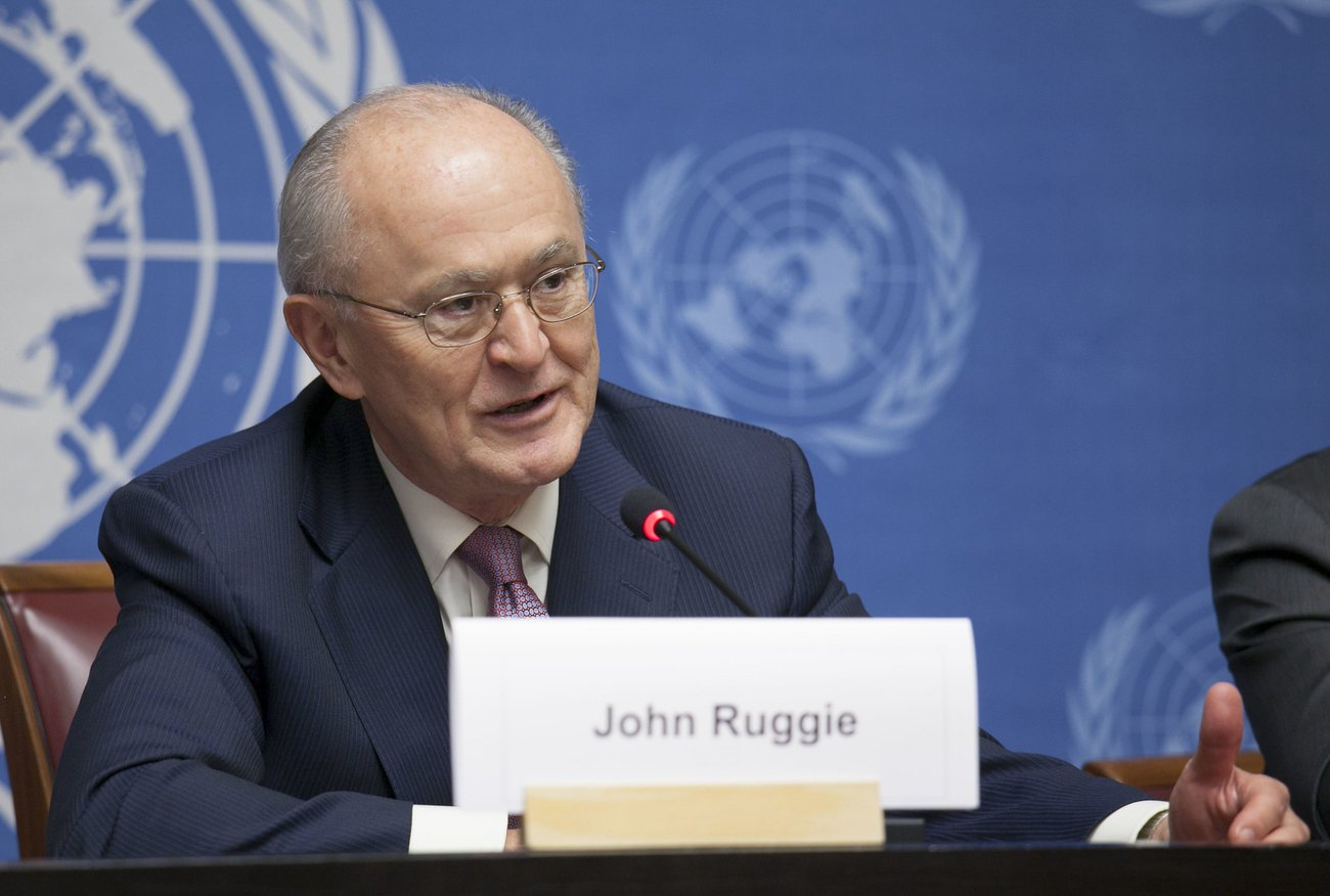John Ruggie Raises Concerns About Adding To Company