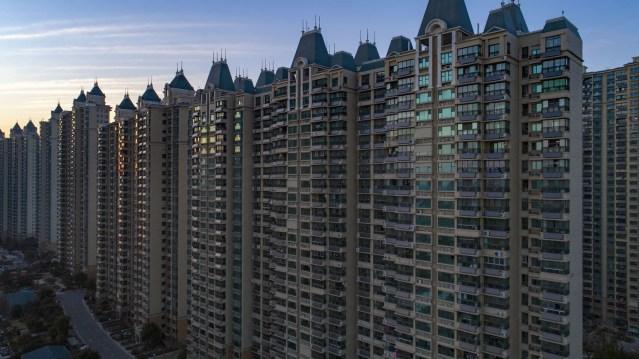 Le géant de l'immobilier chinois est au bord de la faillite