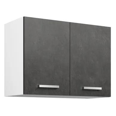 meuble haut de cuisine gris pas cher
