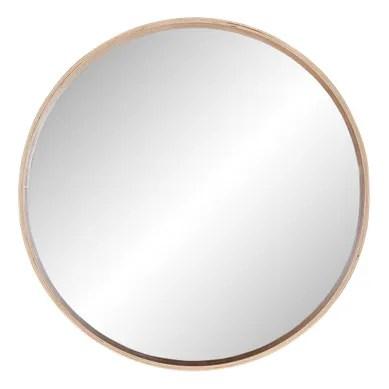 miroir rond ou ovale pas cher retrait
