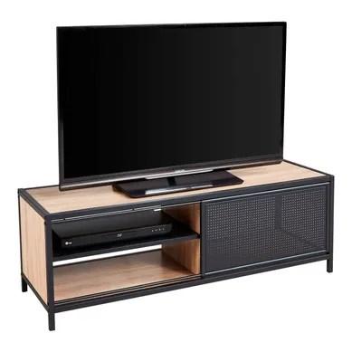 soldes meuble tv industriel pas