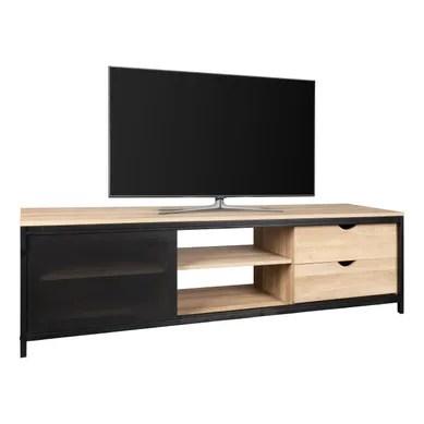 meuble tv industriel pas cher but fr