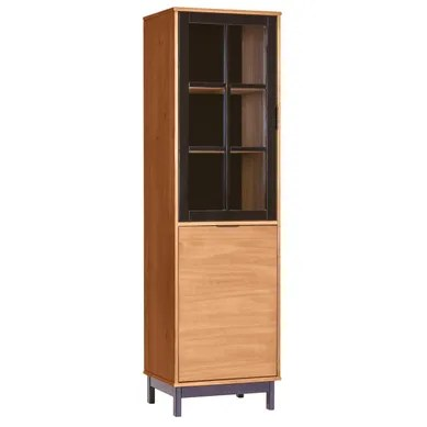 vaisselier et vitrine bois massif