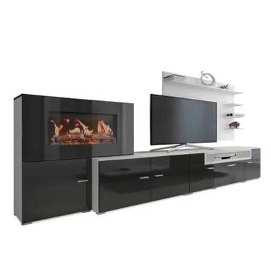 meuble tv noir pas cher but fr