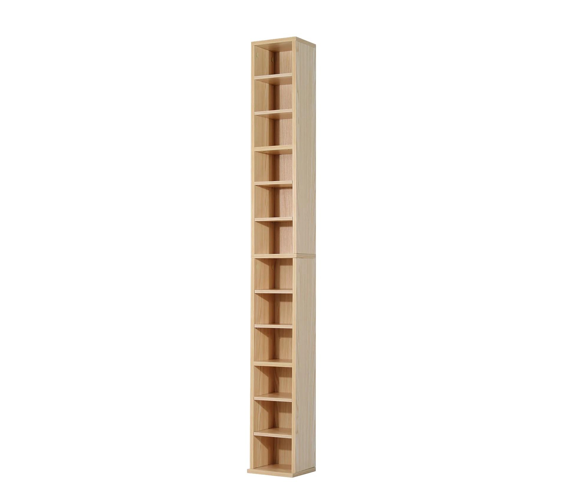 etagere colonne range cd dim 21l x 20l x 175h cm