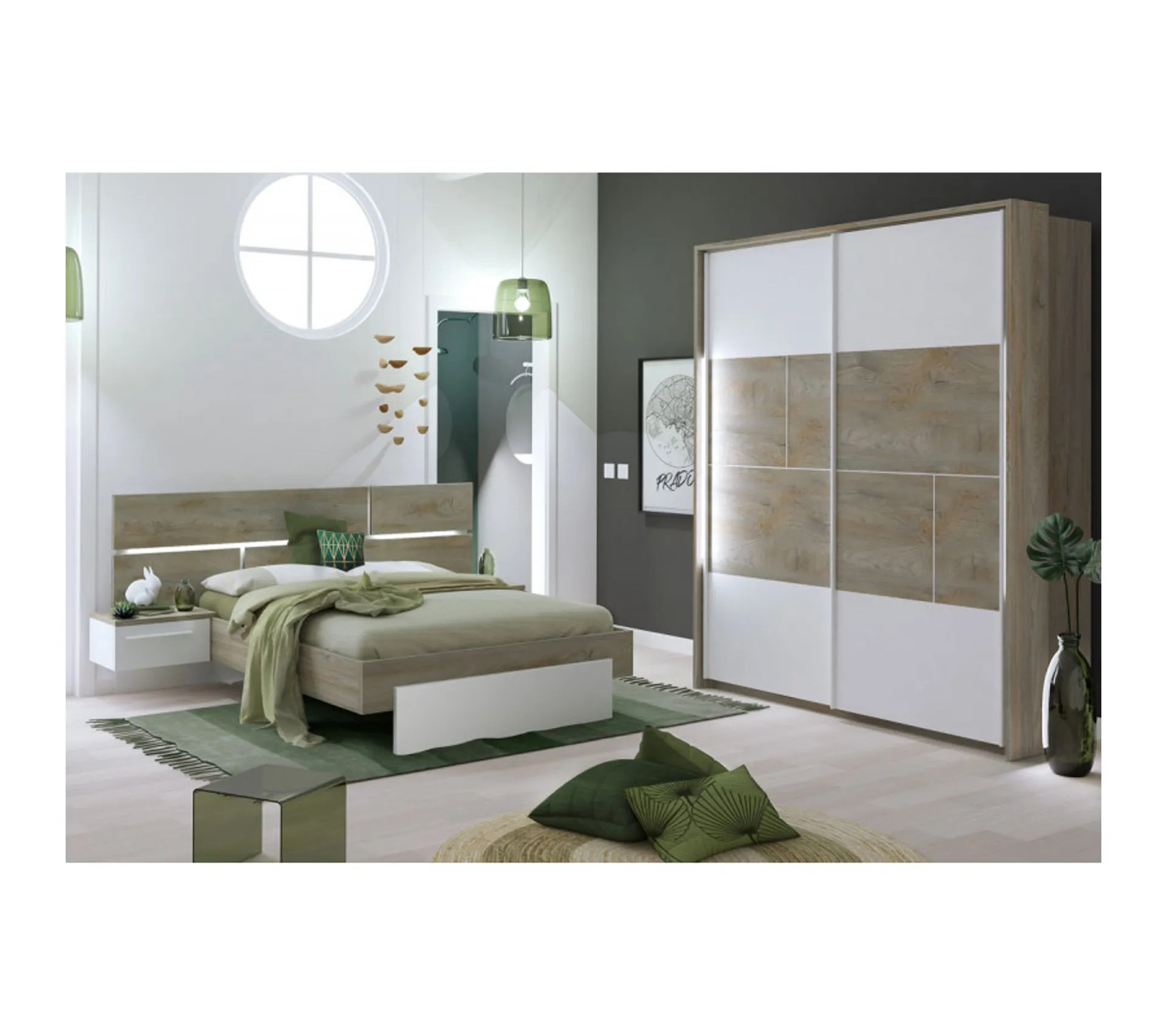 chambre adulte complete 160 200 florine n 2