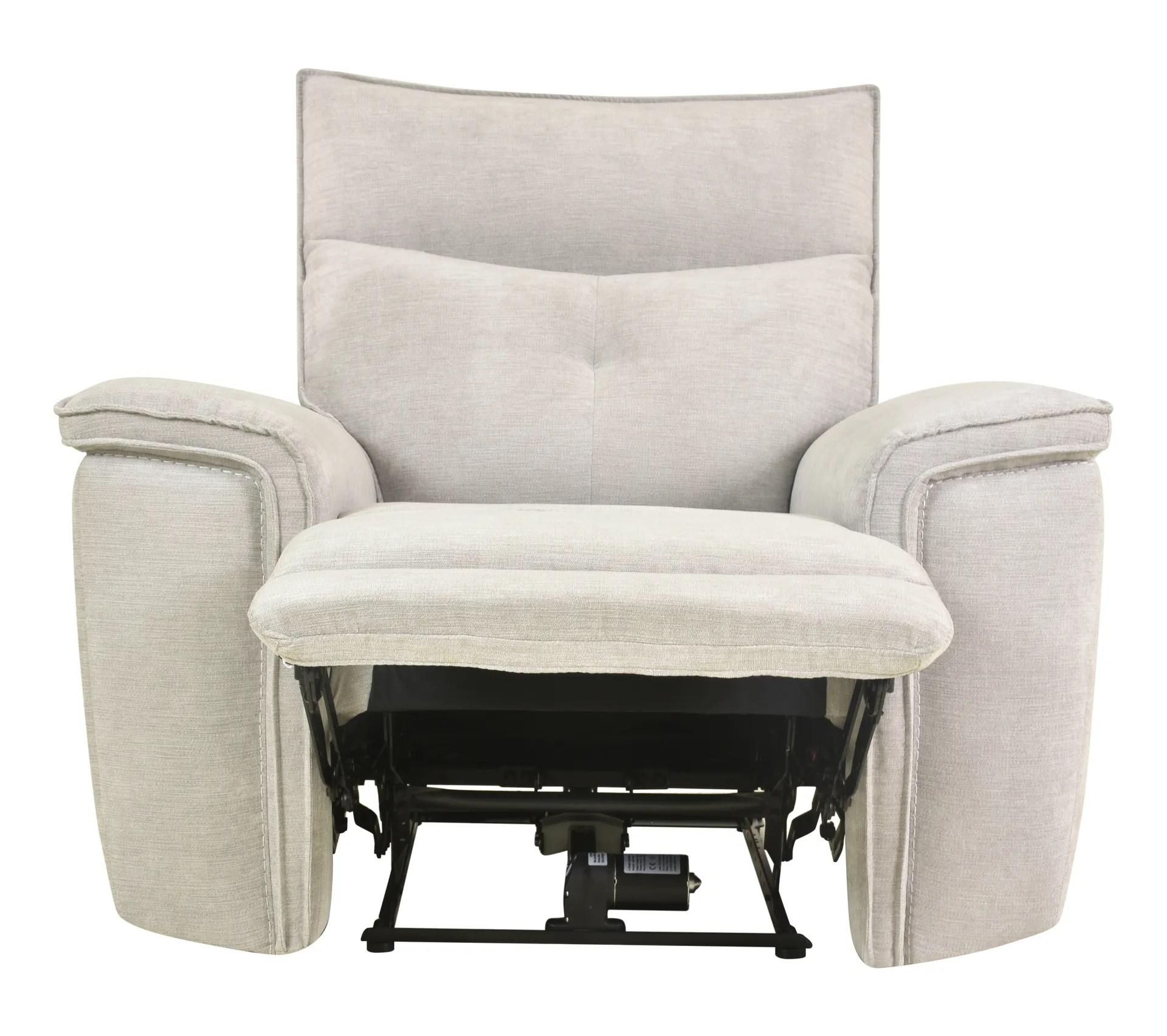 fauteuil relax 2 moteurs adam tissu gris beige