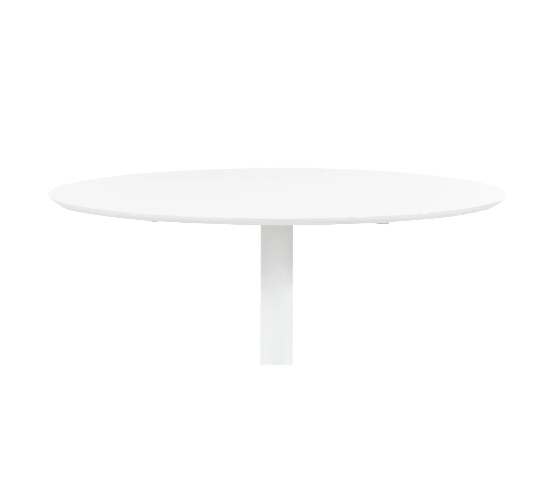 table ronde elias blanc table but