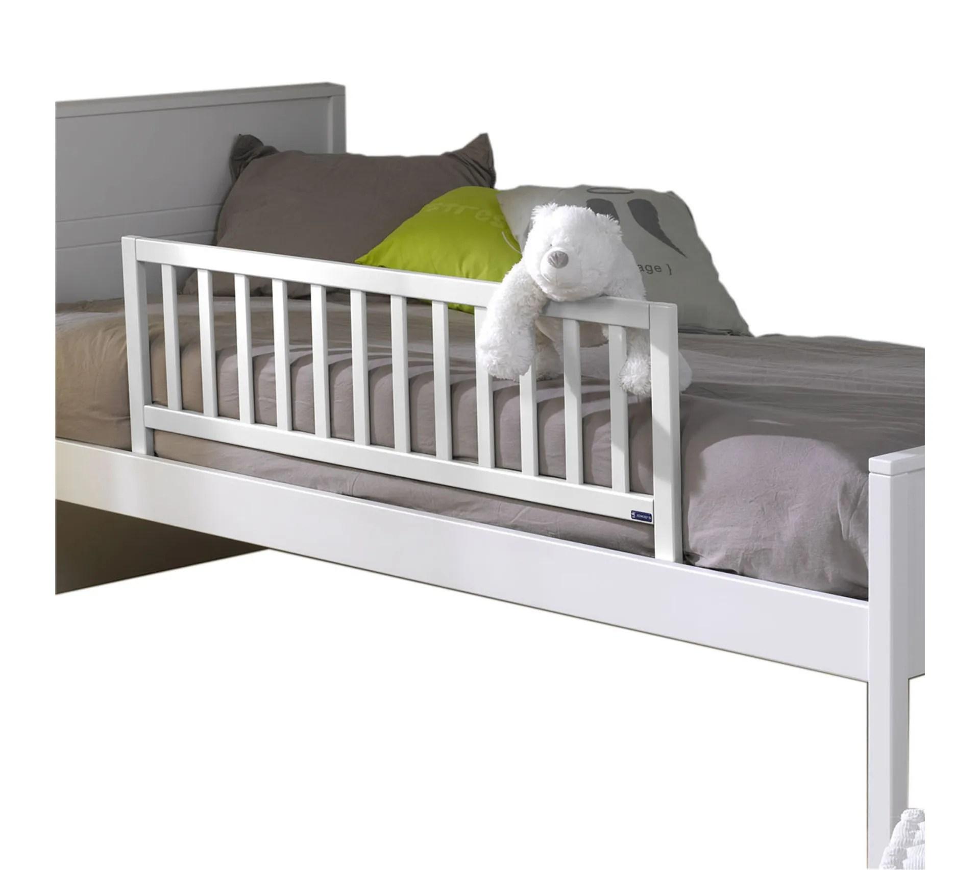 barriere de lit enfant 120 noe blanc