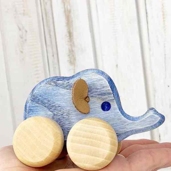 Elefant på hjul