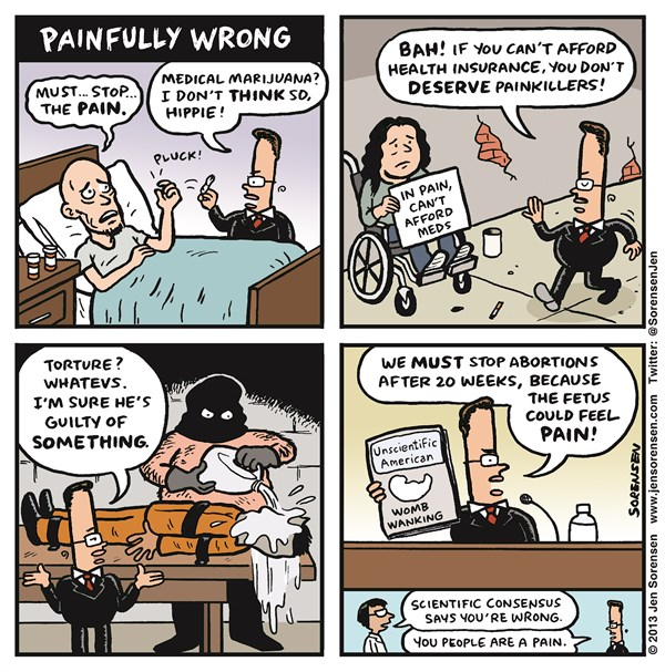 134010 600 Painfully Wrong cartoons