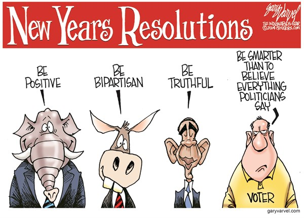142763 600 New Years Resolutions cartoons