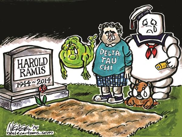 145028 600 Harold Ramis cartoons