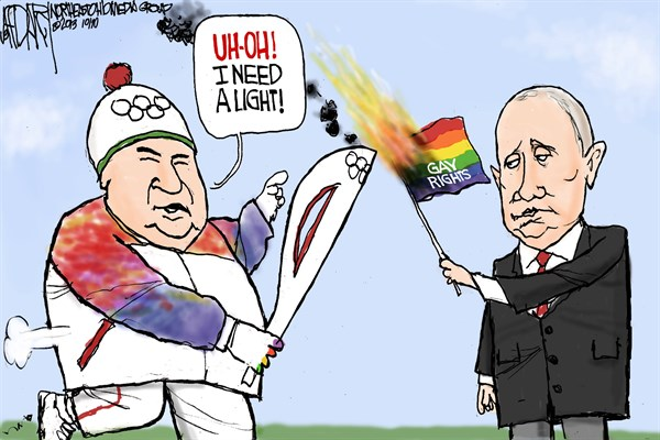 138661 600 Russian Olympic torch cartoons