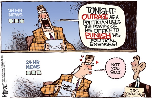 142922 600 Obama vs Christie cartoons