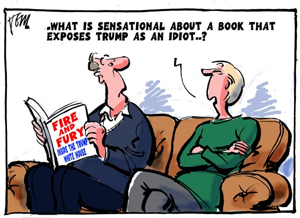 book about Trump, Tom Janssen,The Netherlands,Fire and Fury book about Trump,